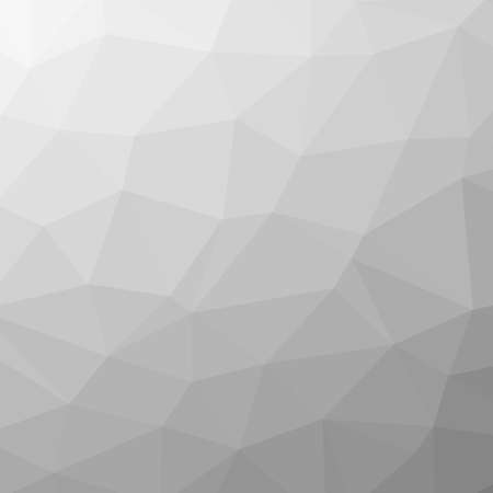 Abstract gray triangles background in different sizes - illustration