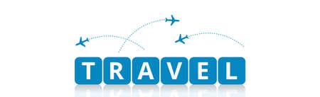 World Travel and Tourism Season - Concept Vector illustration 向量圖像
