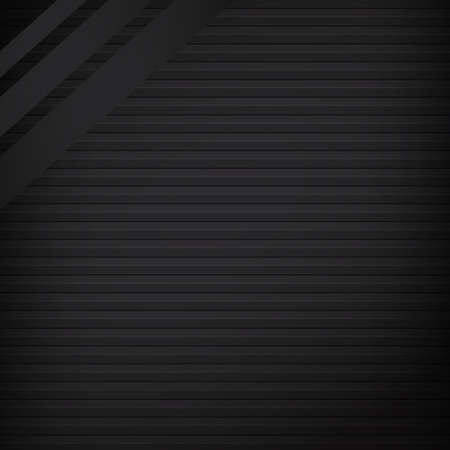 Web Template, Abstract Dark Line Background - Vector illustration