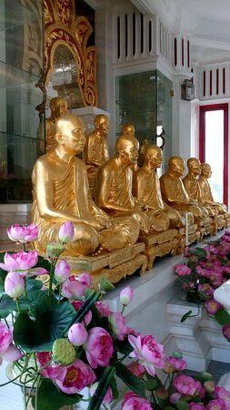 gold: Golden statue Stock Photo