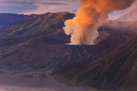 eruption: Bromo eruption