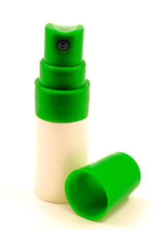 キャップ スプレー プラスチック容器 写真素材