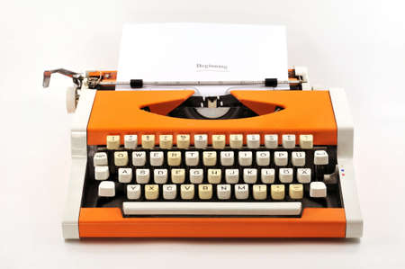 Typewriter on ������� till now work and study