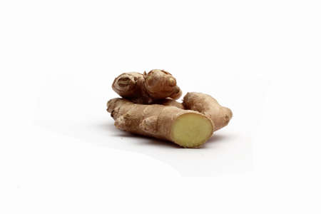 em: horseradish on wei�em background Stock Photo