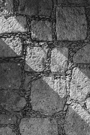 ゲレーロ州タスコ植民地の壁 写真素材
