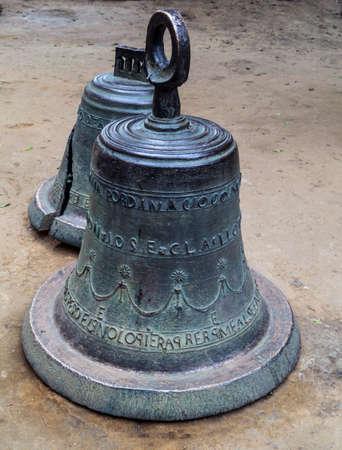 Church bells in Tepoztlan 版權商用圖片