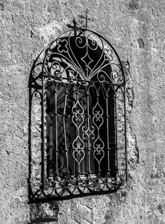 Window in the town of Taxco, Guerrero, located in Mexico