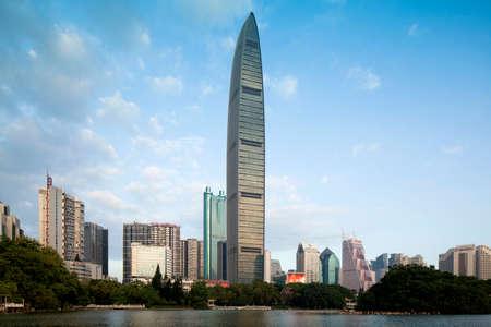 KingKey Financial Center in Shenzhen,China.