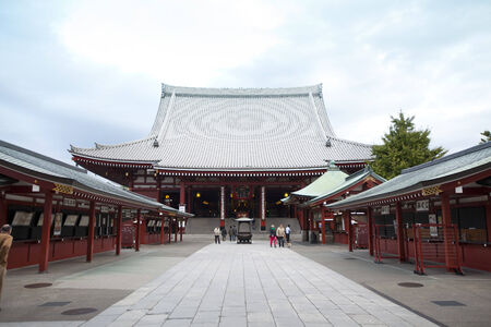 Senso-ji Temple in Tokyo,Japan.
