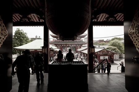 asakusa: Senso-ji Temple in Asakusa, Tokyo, Japan.
