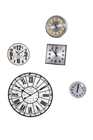 Wall clock collection. photo