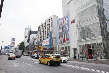 omotesando: People on Omotesando Street, Tokyo