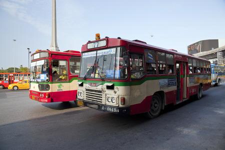 Public transport bus ,Thailand