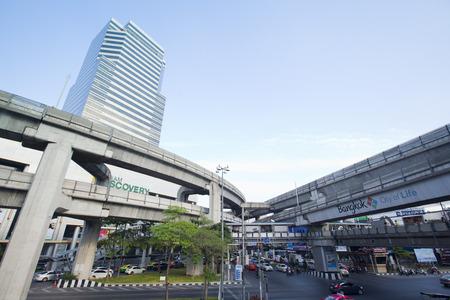 Pathumwan junction in Bangkok, Thailand.