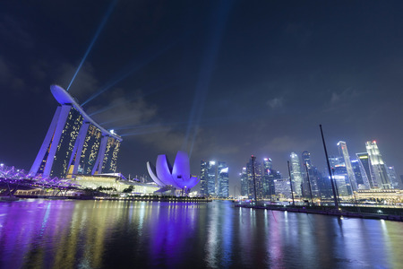 nightscape: Nightscape of Singapore