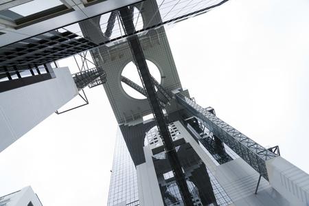 bldg: Umeda Sky Bldg. in Osaka Japan