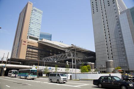 JR Osaka Station in Osaka Japan.