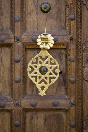 puertas antiguas de marruecos foto de archivo
