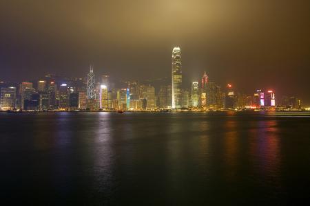 hong kong skyline: Hong Kong Skyline