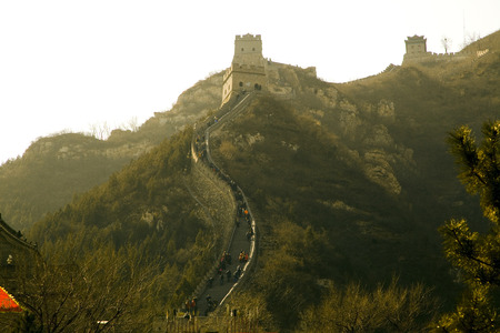 jinshaling: Great Wall of China Stock Photo
