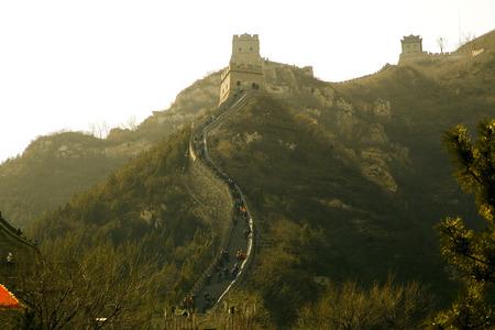 feats: Great Wall of China Stock Photo