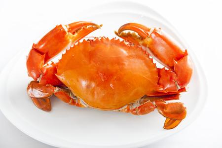 the crab: Cangrejos hervidos Foto de archivo