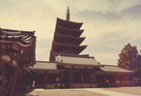asakusa: Sensoji Temple, Asakusa, Tokyo, Japan Stock Photo
