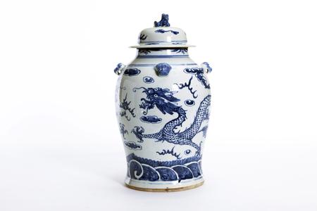Prachtige Chinese antieke vaas voor verzamelaar