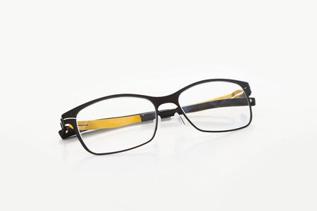 Glasses on table Stock Photo