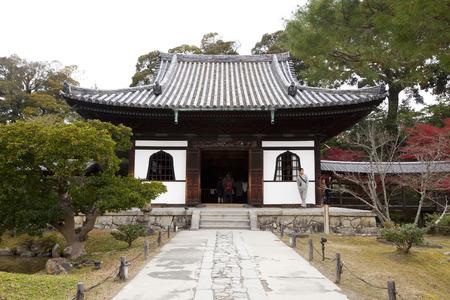Todaiji Nigatsudo Shrine in Nara, Japan