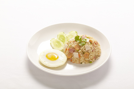 style: Fried rice thai style Stock Photo
