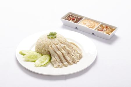 Stoomkip Met Rijst (Hainan Kip)