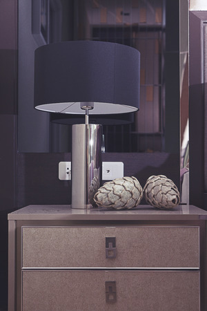 bedside lamps: table lamp by the contemporary style bedding