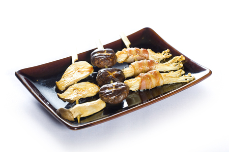 barbecued: varous kind of barbecued chickenYakitoriJapanese food