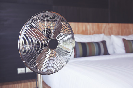 ventilateur dans la chambre