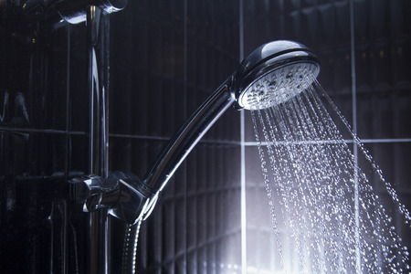 Shower head Standard-Bild