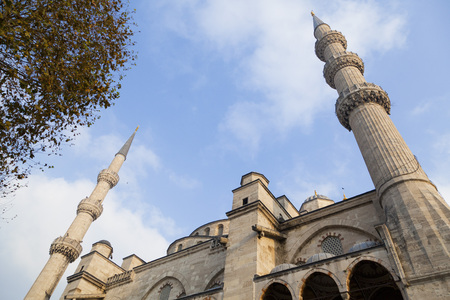 The Blue Mosque, (Sultanahmet Camii), Istanbul, Turkey. Editorial