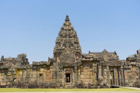 부리 람 지방, 태국에서 프라 삿 Phanom 룽.