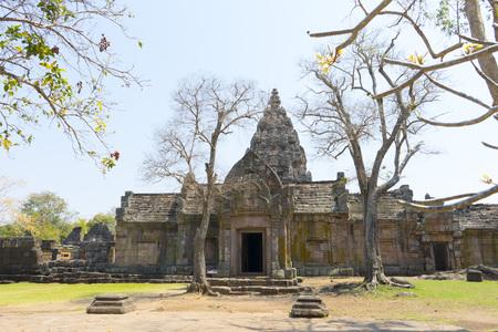 lintel: Prasat Phanom Rung in Buriram province, Thailand.