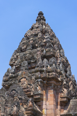 Prasat Phanom Rung in Buriram province, Thailand.