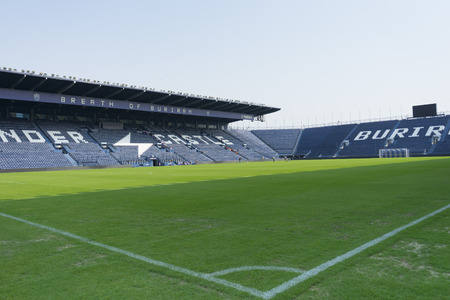 buriram: i-mobile Stadium in Buriram,Thailand Editorial