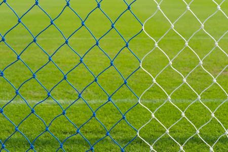 Groen gras in het stadion in Buriram, Thailand Stockfoto - 82088947