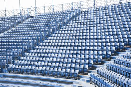 Lege stoel in het stadion Stockfoto - 82065792