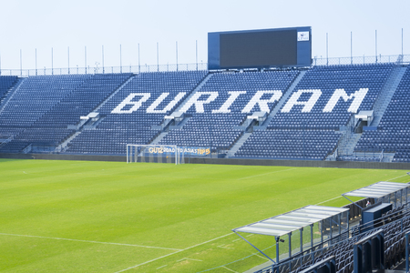 i-mobile Stadium in Buriram, Thailand Redactioneel