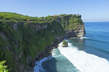 Scenic landscape of Uluwatu Bali. Travel Bali, Indonesia.