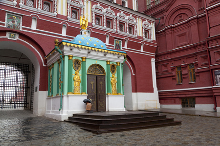 State Historical Museum on Red Square in Moscow Editorial