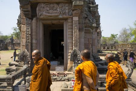 Phanom rung historical park in Buriram,Thailand