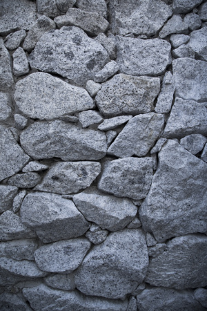 An old  stone wall background.