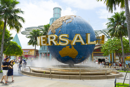 Universal Studios in Singapore 에디토리얼