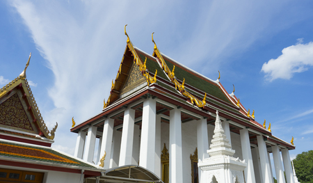 Wat Ratchanatdaram Woravihara temple in Bangkok, Thailand